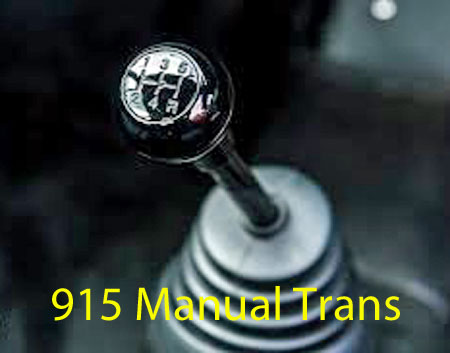 Transmission, Manual 4 and 5 Speed