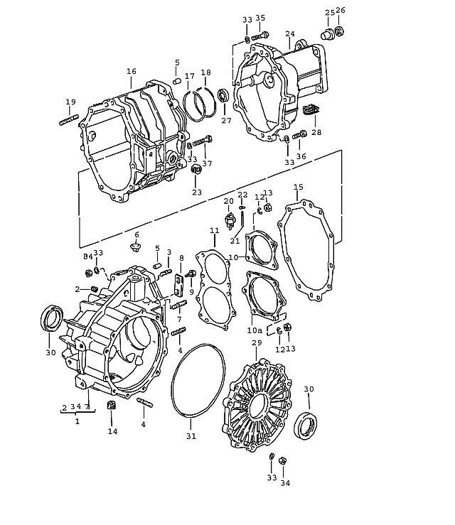 924 1976 1979 Trans Drain Plug M 24x1 5