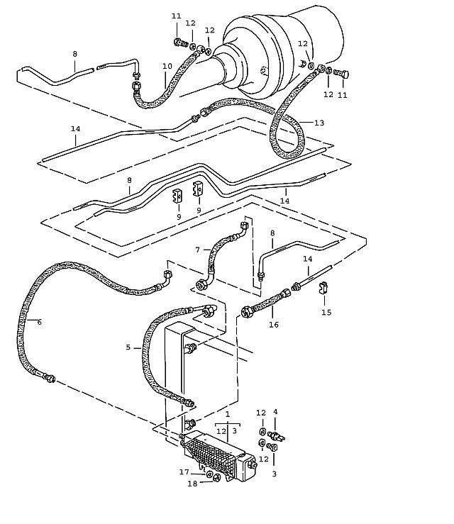 1994 Porsche 928 Transmission: Porsche 928 Transmission Lock Nut Vm 6