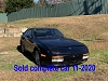 944 Turbo 1986 Dismantling for Used Parts  ** sold car 11-12-20 **