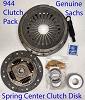 Porsche 944 Clutch Kit 944,944 S, 944 S2, 924S, 1983-91 225 mm