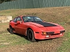 Porsche 944S 1987 Parts Car with good Driveline