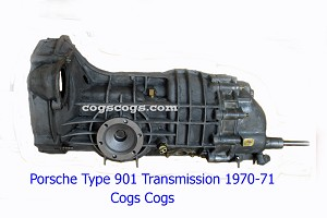 Porsche 911 Transmission 901 Complete Manual, 911.00 & 911.01, 1970-71