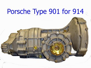 Porsche 914 Transmission 901 Complete Manual, Type 300.11, 1970-72, tail shift