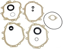 Porsche 911 Transmission Gasket Set, Porsche 911/912 1969-71 with thick intermediate plate