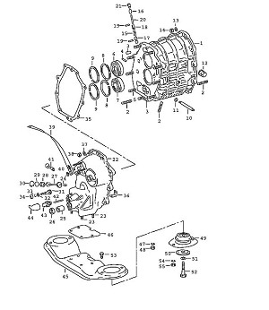 Porsche 911 Transmission Seat