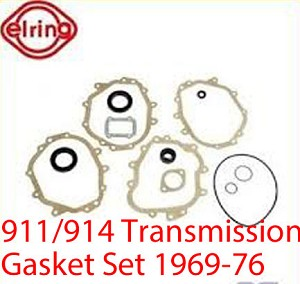 Transmission Gasket Set 914 1970-76, 914-6 1970-72