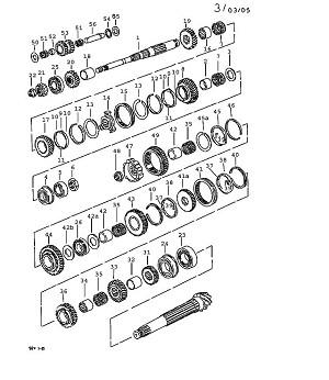 Porsche 924 Transmission Collar Nut