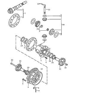 Porsche 924 Transmission Tension sleeve