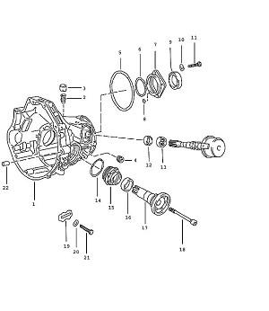 Porsche 924 Transmission Sealing Ring
