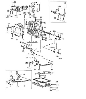 Porsche 924 Transmission Gasket