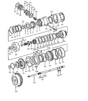 Porsche 924 Transmission Driving Shell