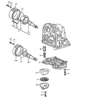 Porsche 924 Transmission Regulator