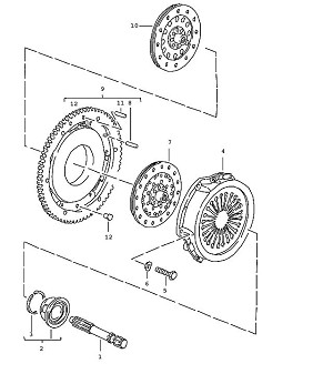 Porsche 928 Clutch Release Bearing is NLA