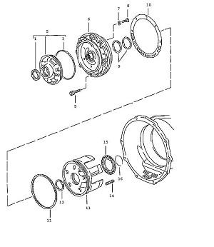Porsche 928 Transmission Sealing Ring
