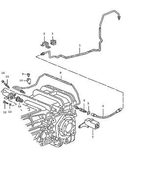 Porsche 928 Transmission Support