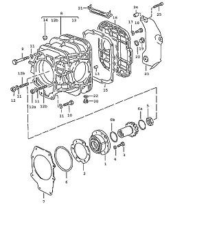 Porsche 928 Transmission Shake-proof washer