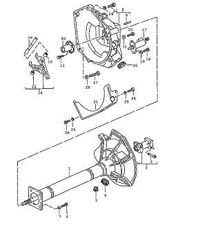 Porsche 944 Transmission Lock washer