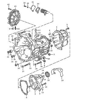 Porsche 944 Transmission Needle Bearing Aor Aos