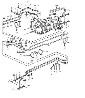 Porsche 944 Transmission Sealing ring A 12X15.5 AL