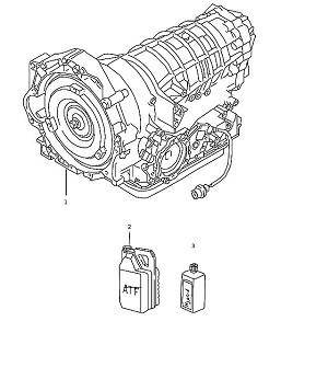 Porsche Boxster Tiptronic Transmission 5 speed Type A86.00