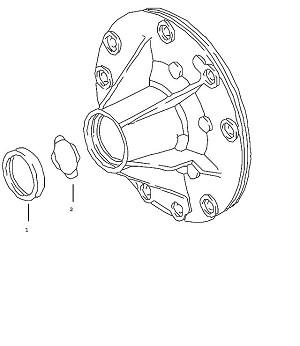 Porsche Boxster Transmission Oil Pump Shaft Seal